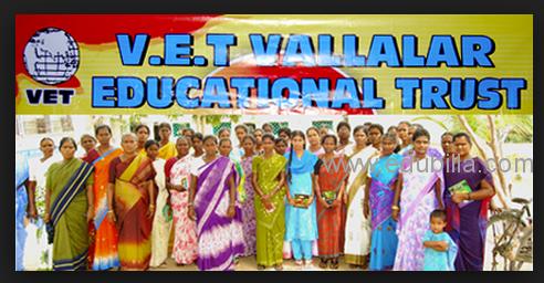 VALLALAR EDUCATIONAL TRUST