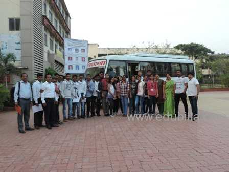 Industrial visit to Cotton King & Nandan Dairy at Baramati with MBA Students