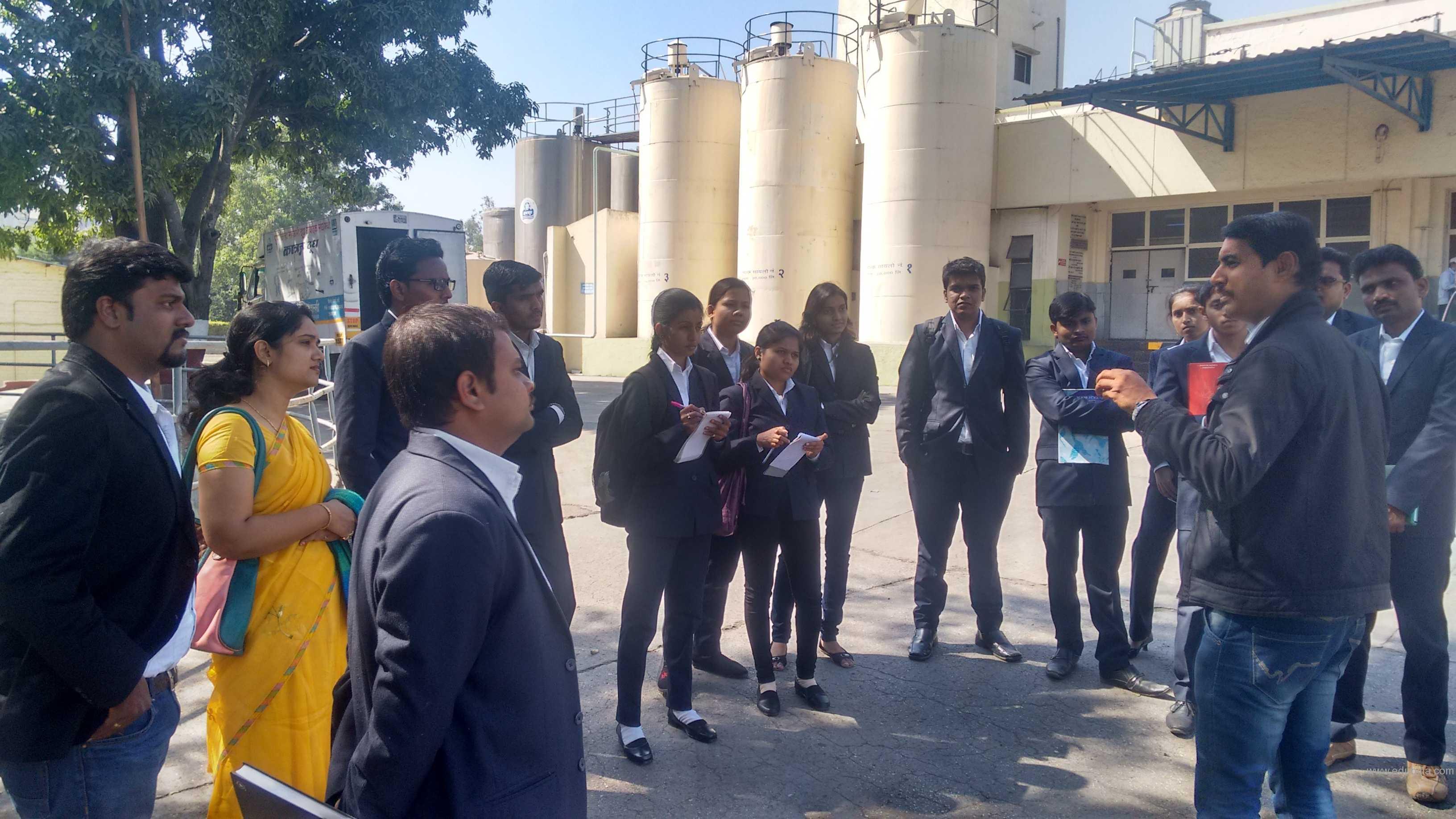 Industrial Visits Katraj Dairy