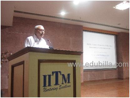 Expert Lecture Series – IITM 2016