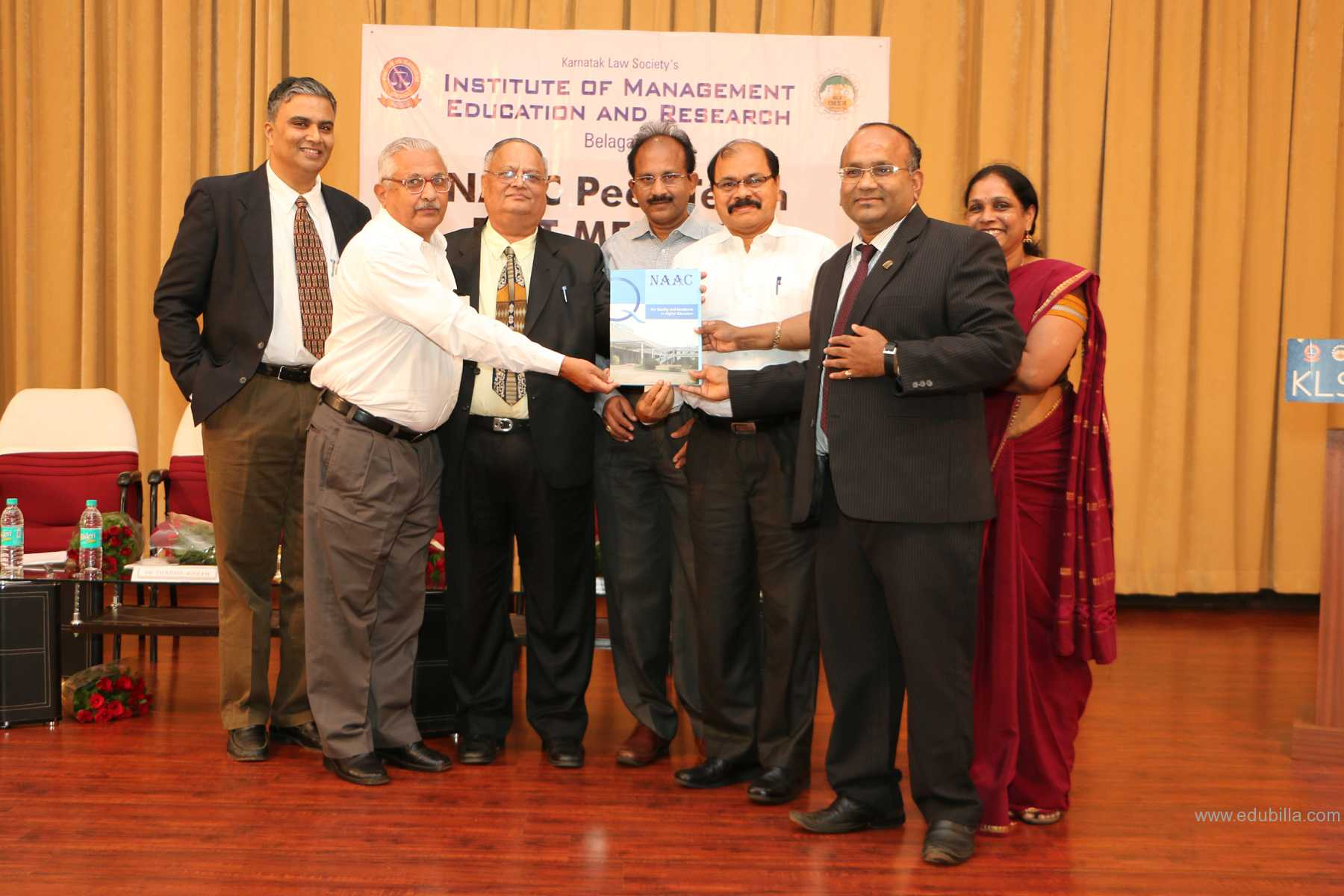 """KLS IMER accredited with """"A"""" grade by NAAC"""
