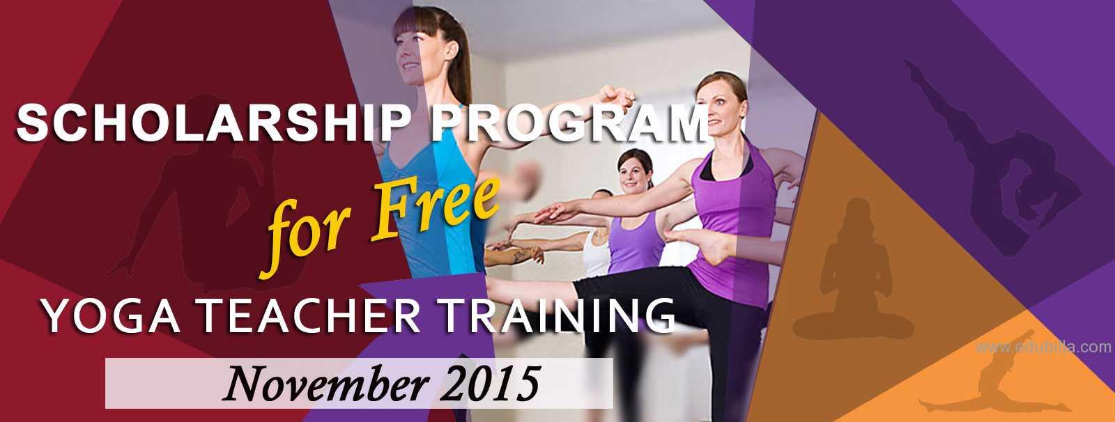 Free Scholarship Yoga Teacher Training in Rishikesh