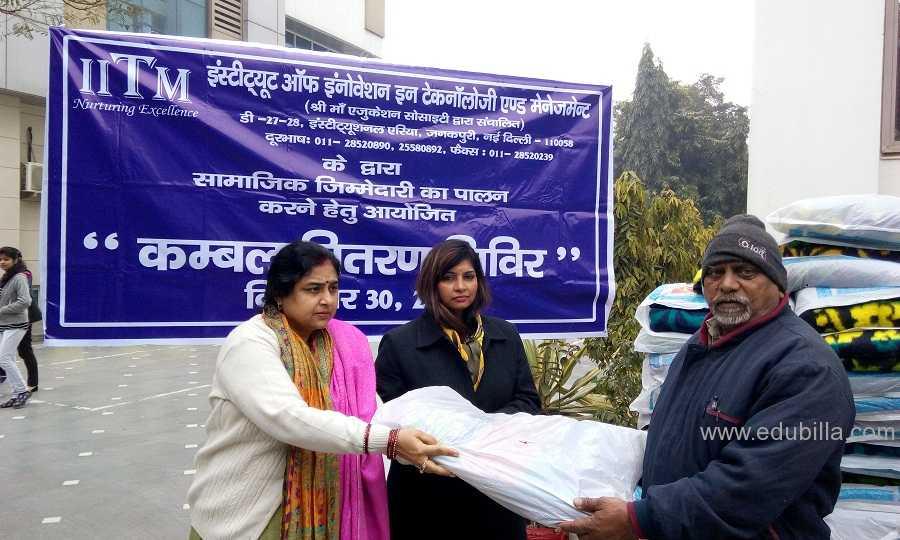 """""""Kambal Vitran Shivir""""-A Social Initiative"""