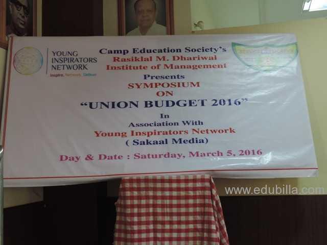 Union Budget 2016