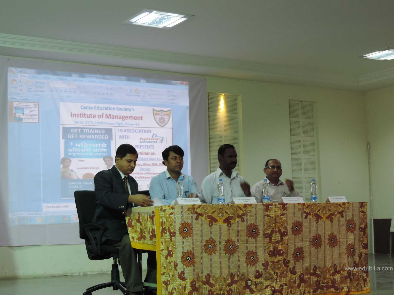 Seminar on Job oriented short term courses