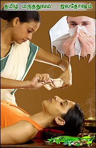 தமிழ் மருத்துவம்-ஜலதோஷம்