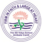 THE S.D.VIDYA SCHOOL