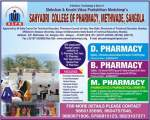 SAHYADRI COLLEGE OF PHARMACY, METHWADE