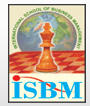 INTERNATIONAL SCHOOL OF BUSINESS MANAGEMENT