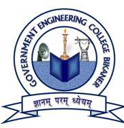 Top Institute Govt. Engineering College Bikaner details in Edubilla.com