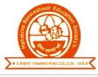 M.S BIDVE ENGINEERING COLLEGE