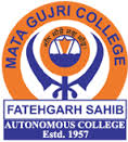 Top Institute MATA GUJRI COLLEGE FATEHGARH SAHIB details in Edubilla.com