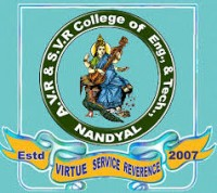 Top Institute A.V.R & S.V.R ENGINEERING COLLEGE details in Edubilla.com