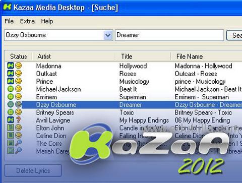 kazaa music