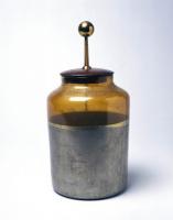 Pieter van Musschenbroek-Leyden Jar
