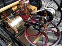 Gas Fired Internal Combustion Engine