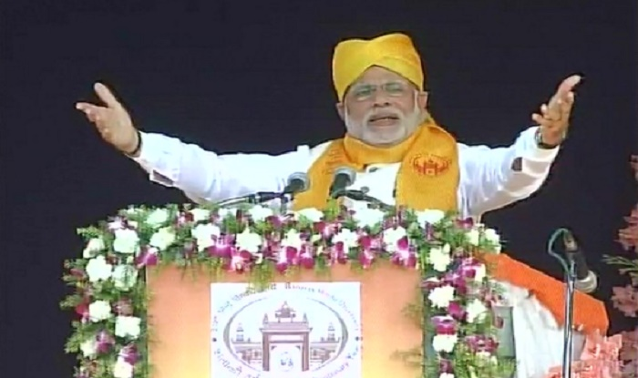 Modi said 'keep the student alive in you' to BHU students