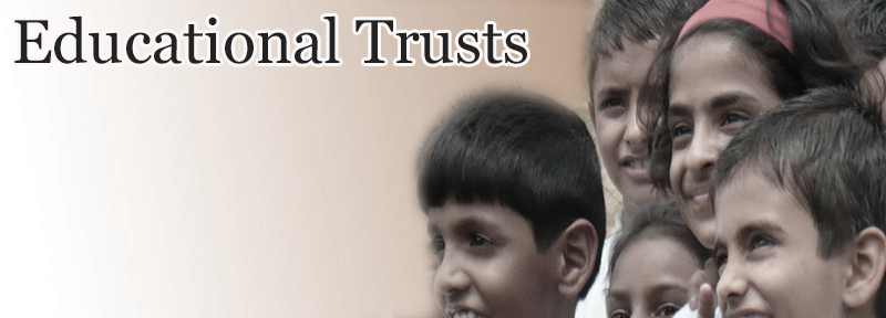 Get Educational trusts details