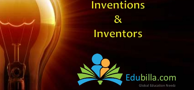 Popular Inventions and Inventors