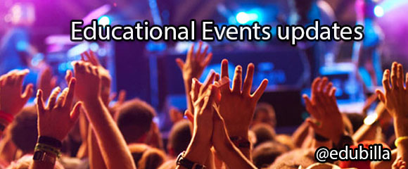 Get Educational events updates
