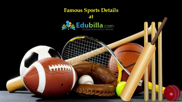 Know about various sports details