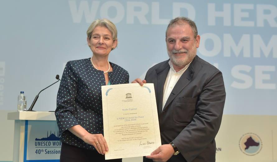 UNESCO artist for peace