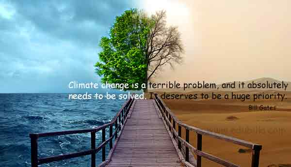 Climate change is a terrible problem, and it absolutely needs to be solved. It deserves to be a huge priority.