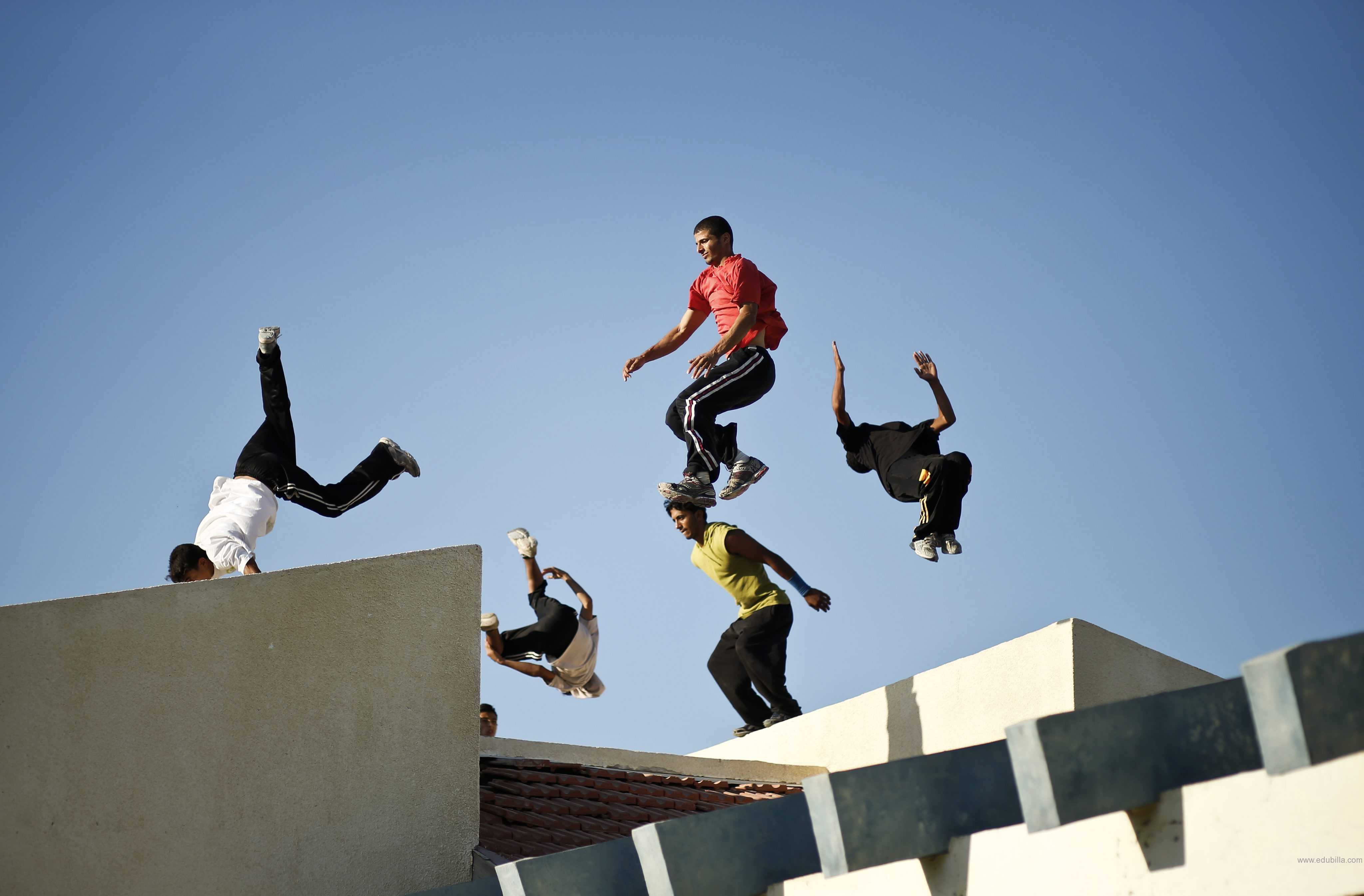 essay parkour Parkour training focuses on safety, longevity, personal responsibility, and self-improvement it discourages reckless behavior, showing off, and dangerous stunts parkour practitioners value community, humility, positive collaboration, sharing of knowledge, and the importance of play in human life, while demonstrating respect for.