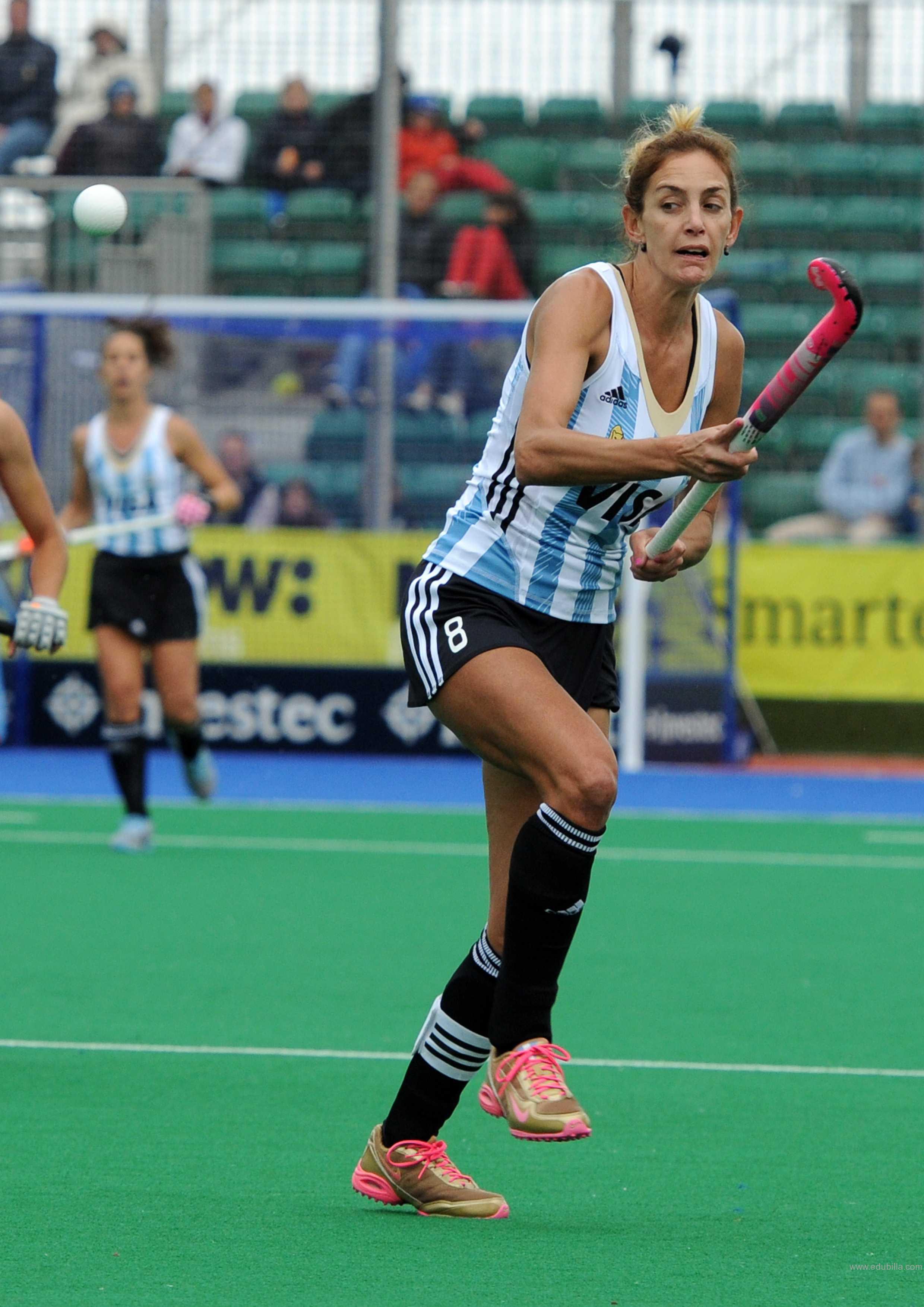 Luciana Aymar 4 Olympic medals