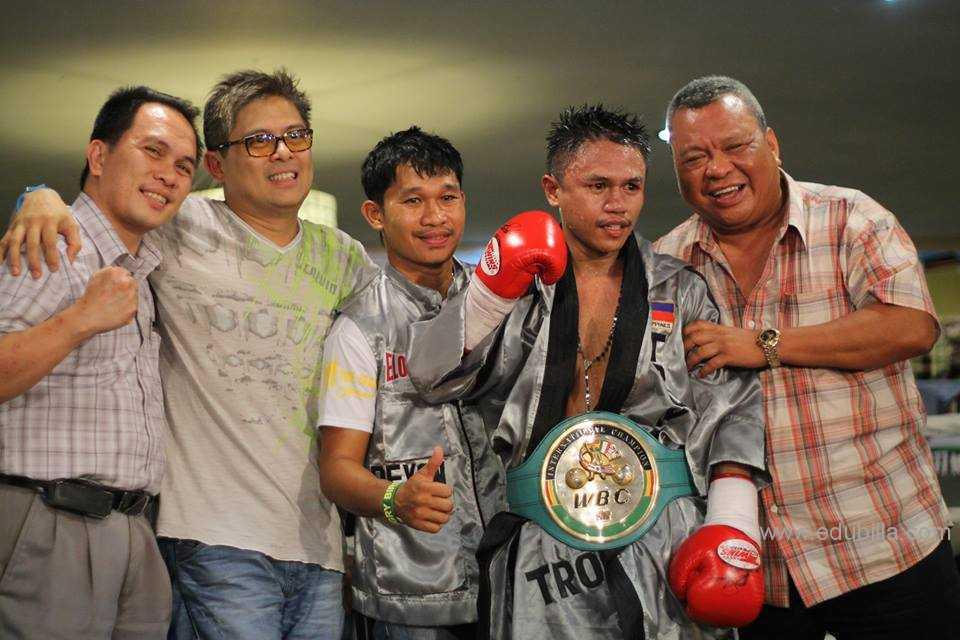 WBC Green and Gold Championship Belt