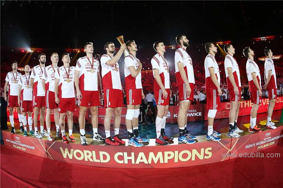 FIVB Volleyball Men's World Championship Trophy