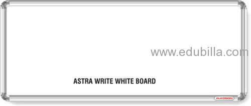 Astra Chrome Write White Boards
