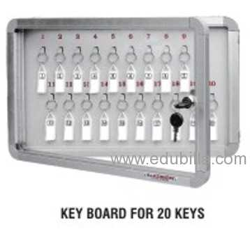 NEW STEEL BACK KEY CABINETS