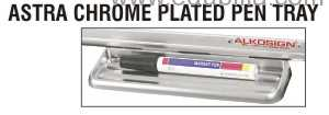 Astra Chrome Plated Pen Tray