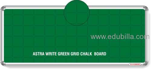 Astra Chrome Write Green Grid Chalk Board