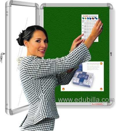 Acrylic Cover Notice Boards