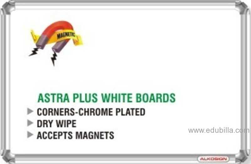 Astra Chrome Plus White Boards