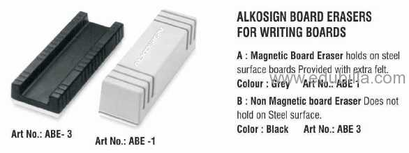 Alkosign Board Erasers For Writing Boards