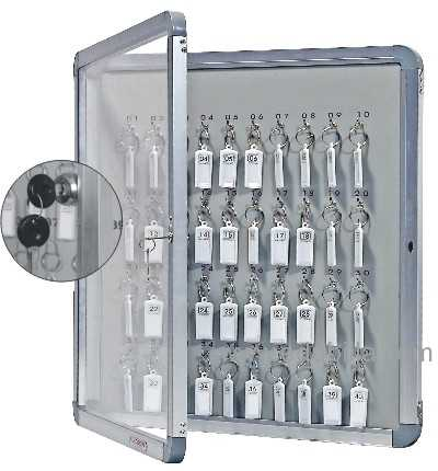 STANDARD ACRYLIC COVER KEY CABINETS