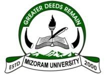 Top Univeristy Mizoram University details in Edubilla.com