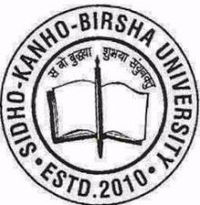 Sidho Kanho Birsha University,West Bengal